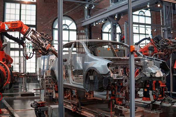 car shell assembly line