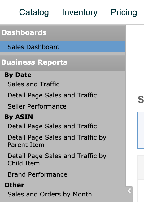 Sales Dashboard - Business Reports
