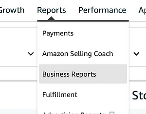 Amazon Business Reports